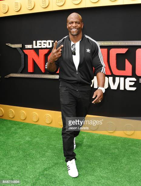 Actor Terry Crews attends the premiere of 'The LEGO Ninjago Movie' at Regency Village Theatre on September 16 2017 in Westwood California