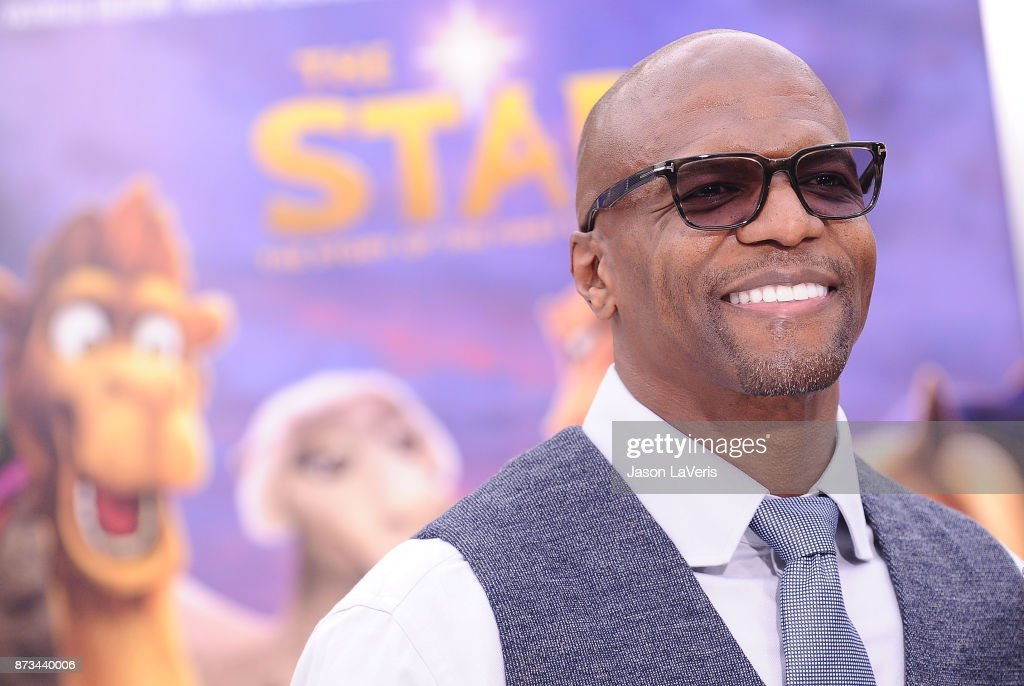 Actor Terry Crews attends the premiere of 'The Star' at Regency Village Theatre on November 12, 2017 in Westwood, California.