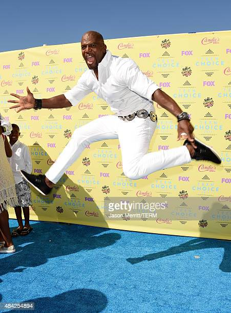 Actor Terry Crews attends the Teen Choice Awards 2015 at the USC Galen Center on August 16 2015 in Los Angeles California