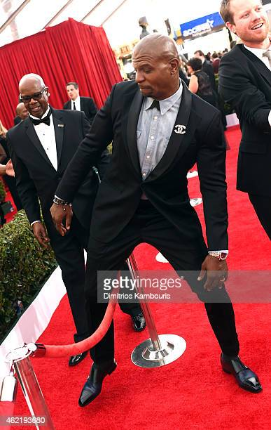 Actor Terry Crews attends TNT's 21st Annual Screen Actors Guild Awards at The Shrine Auditorium on January 25 2015 in Los Angeles California 25184_014