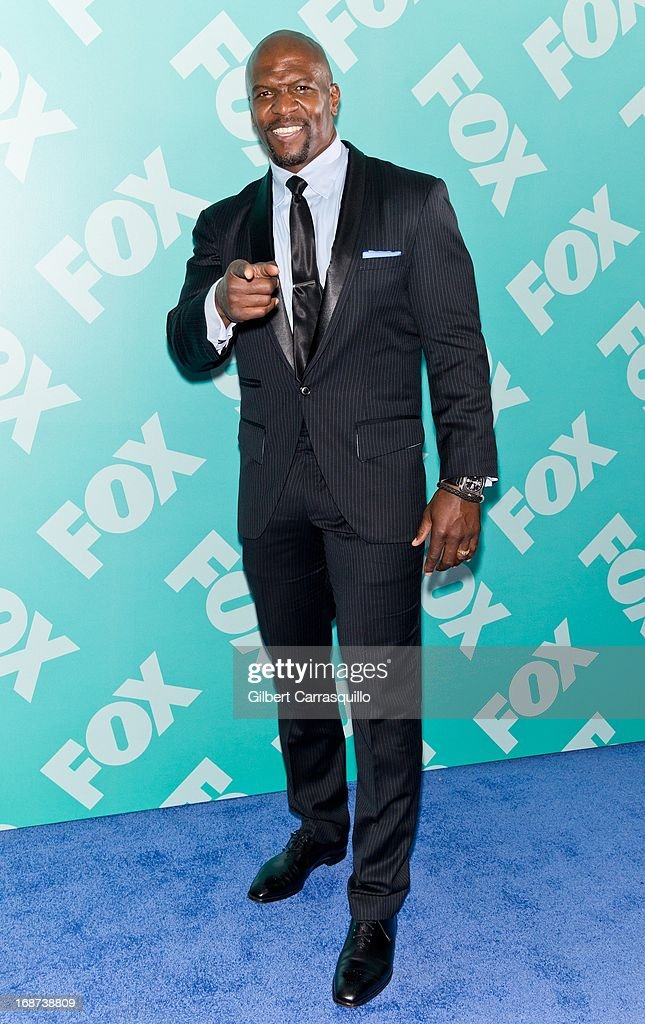 Actor <a gi-track='captionPersonalityLinkClicked' href=/galleries/search?phrase=Terry+Crews&family=editorial&specificpeople=569932 ng-click='$event.stopPropagation()'>Terry Crews</a> of 'Brooklyn Nine-Nine' attends the FOX 2103 Programming Presentation Post-Party at Wollman Rink - Central Park on May 13, 2013 in New York City.