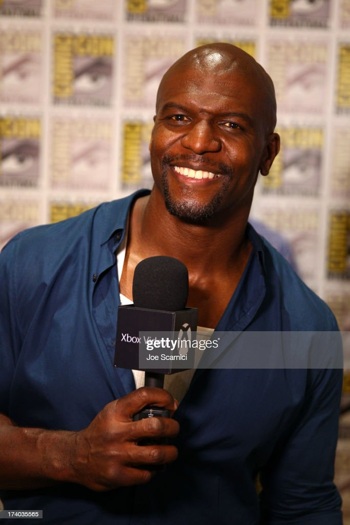 Actor Terry Crews speaks with Xbox Video at Comic-Con 2013 on July 19, 2013 in San Diego, California.