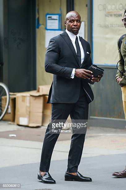 Actor Terry Crews walks in Noho on May 17 2017 in New York City