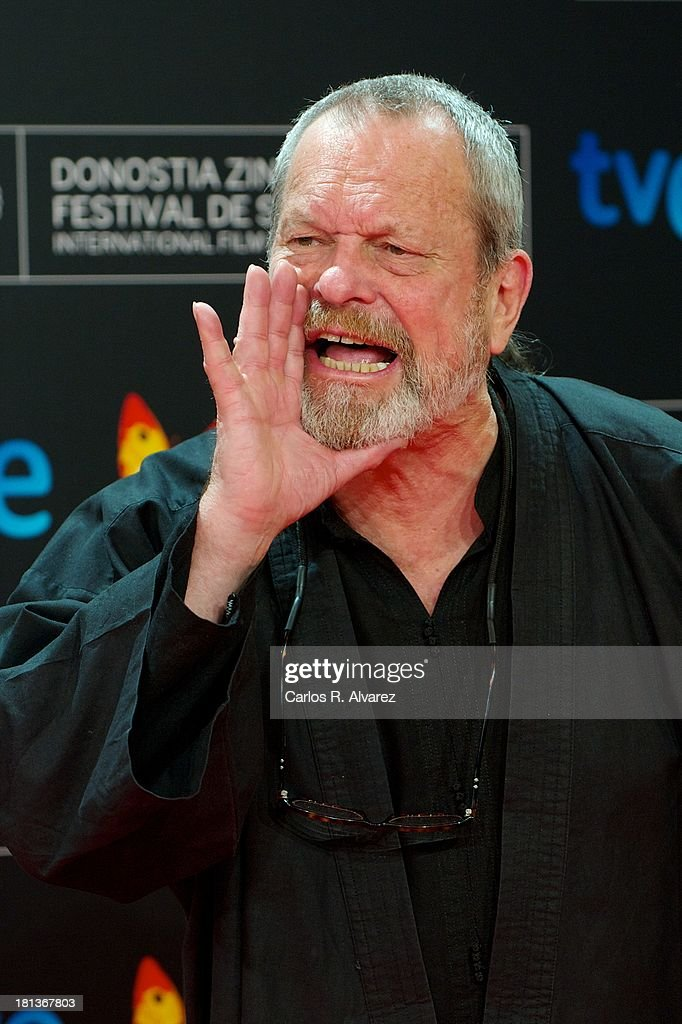 Actor Terry Gilliam attends the inauguration Gala of the 61th San Sebastian Film Festival at the Kursaal Palace on September 20 2013 in San Sebastian...