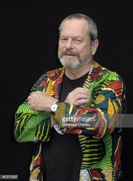 Actor Terry Gilliam poses during 'The Imaginarium of Doctor Parnassus' Paris Photocall at Hotel Bristol on September 30 2009 in Paris France