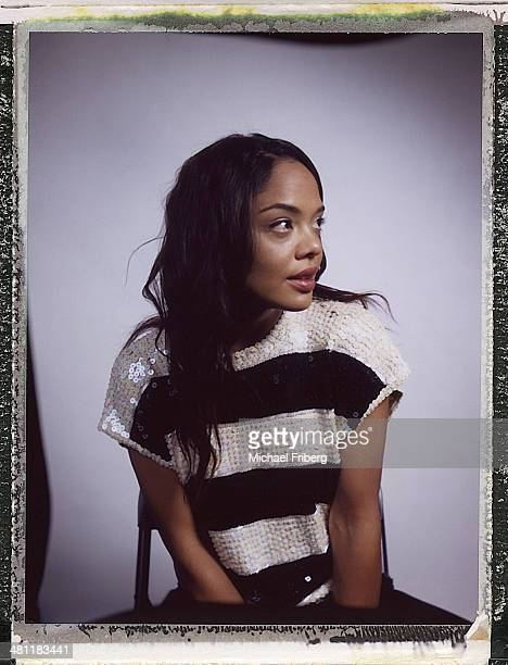 Actor Tessa Thompson is photographed for Variety on January 18 2014 in Park City Utah