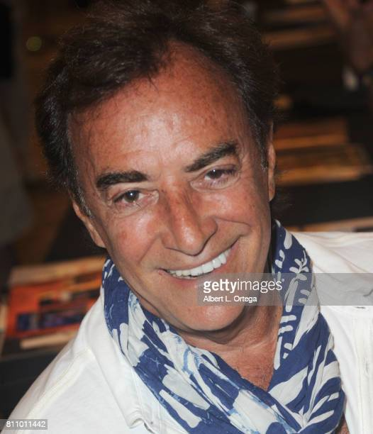 Actor Thaao Penghlis signs autographs at The Hollywood Show held at Westin LAX Hotel on July 8 2017 in Los Angeles California
