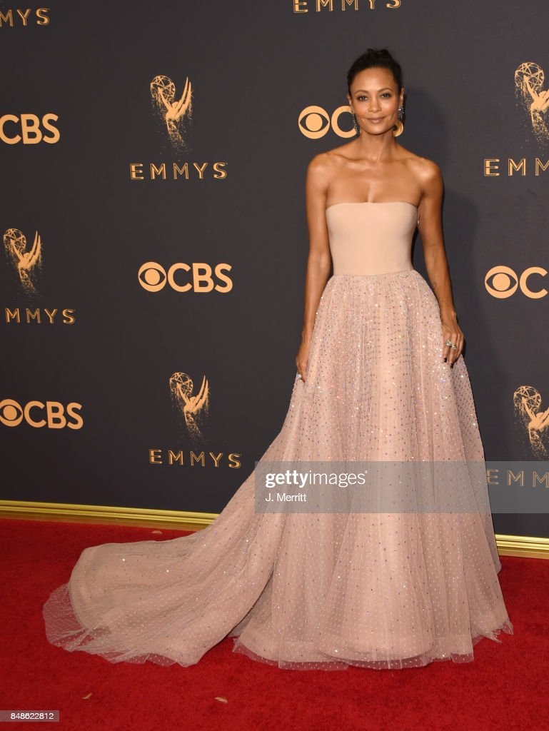 Actor Thandie Newton attends the 69th Annual Primetime Emmy Awards at Microsoft Theater on September 17, 2017 in Los Angeles, California.