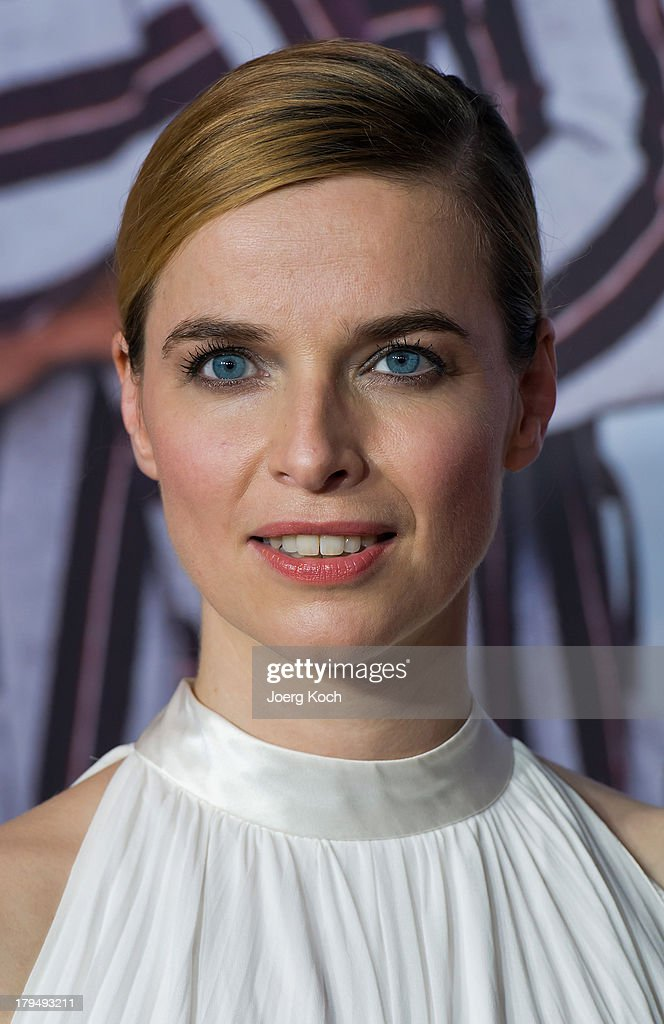 Actor Thekla Reuten poses at the 'Da geht noch was' Germany premiere at Mathaeser on September 4, 2013 in Munich, Germany.
