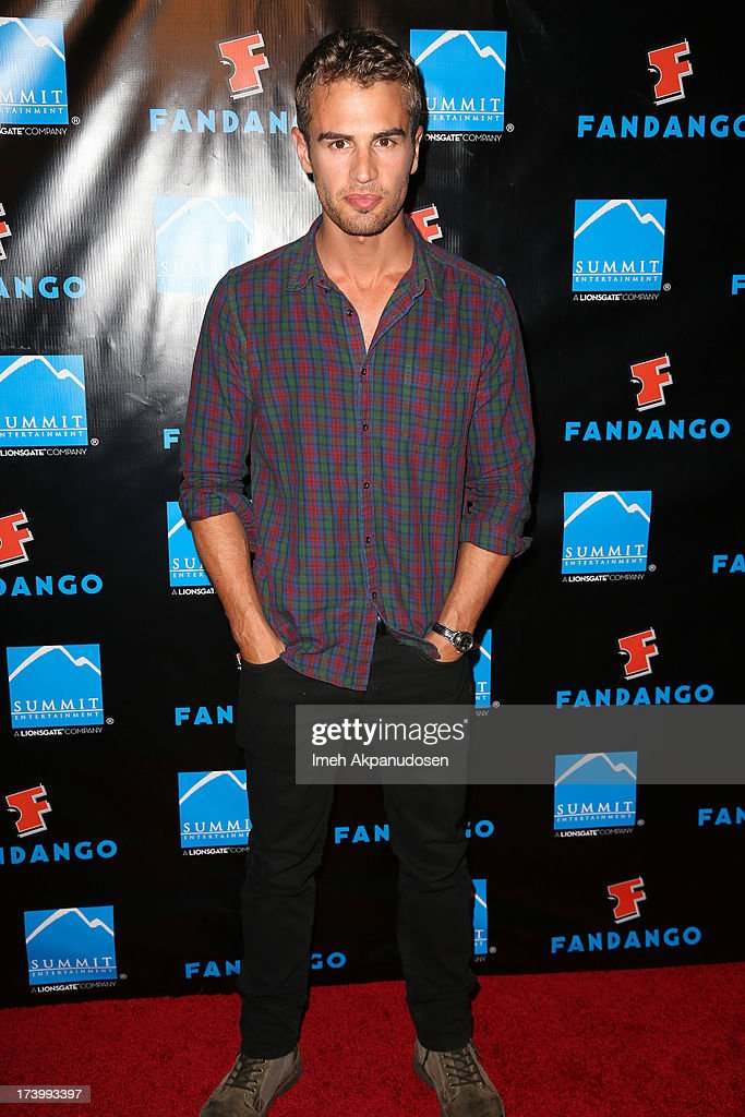 Actor <a gi-track='captionPersonalityLinkClicked' href=/galleries/search?phrase=Theo+James&family=editorial&specificpeople=7989783 ng-click='$event.stopPropagation()'>Theo James</a> attends Summit Entertainment's Comic-Con Red Carpet Press Event at Hard Rock Hotel San Diego on July 18, 2013 in San Diego, California.