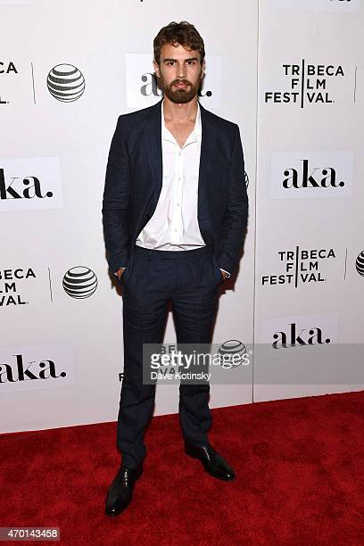 Actor Theo James attends the premiere of 'Franny' during the 2015 Tribeca Film Festival at BMCC Tribeca PAC on April 17 2015 in New York City