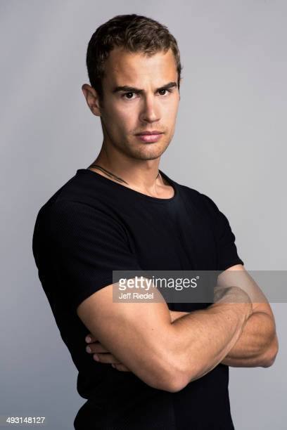 Actor Theo James is photographed for Entertainment Weekly Magazine on May 28 2013 in Chicago Illinois