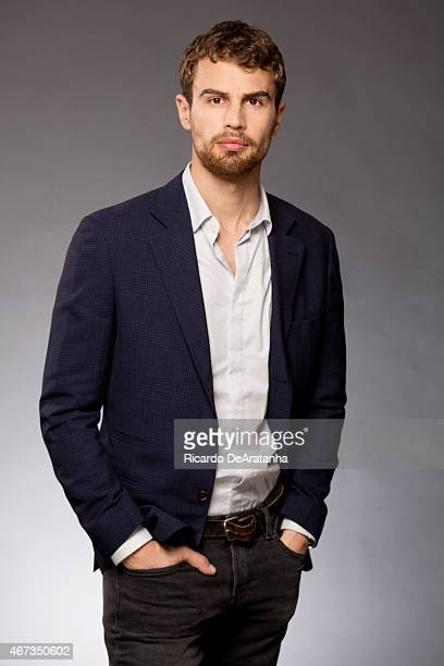 Actor Theo James is photographed for Los Angeles Times on March 6 2015 in Beverly Hills California PUBLISHED IMAGE CREDIT MUST READ Ricardo...