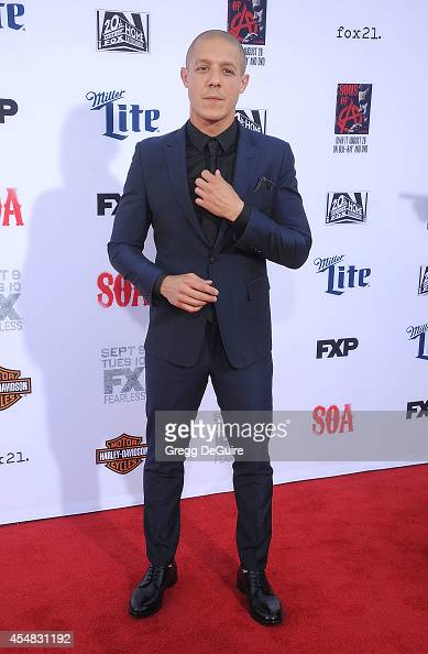 Actor Theo Rossi arrives at FX's 'Sons Of Anarchy' premiere at TCL Chinese Theatre on September 6 2014 in Hollywood California