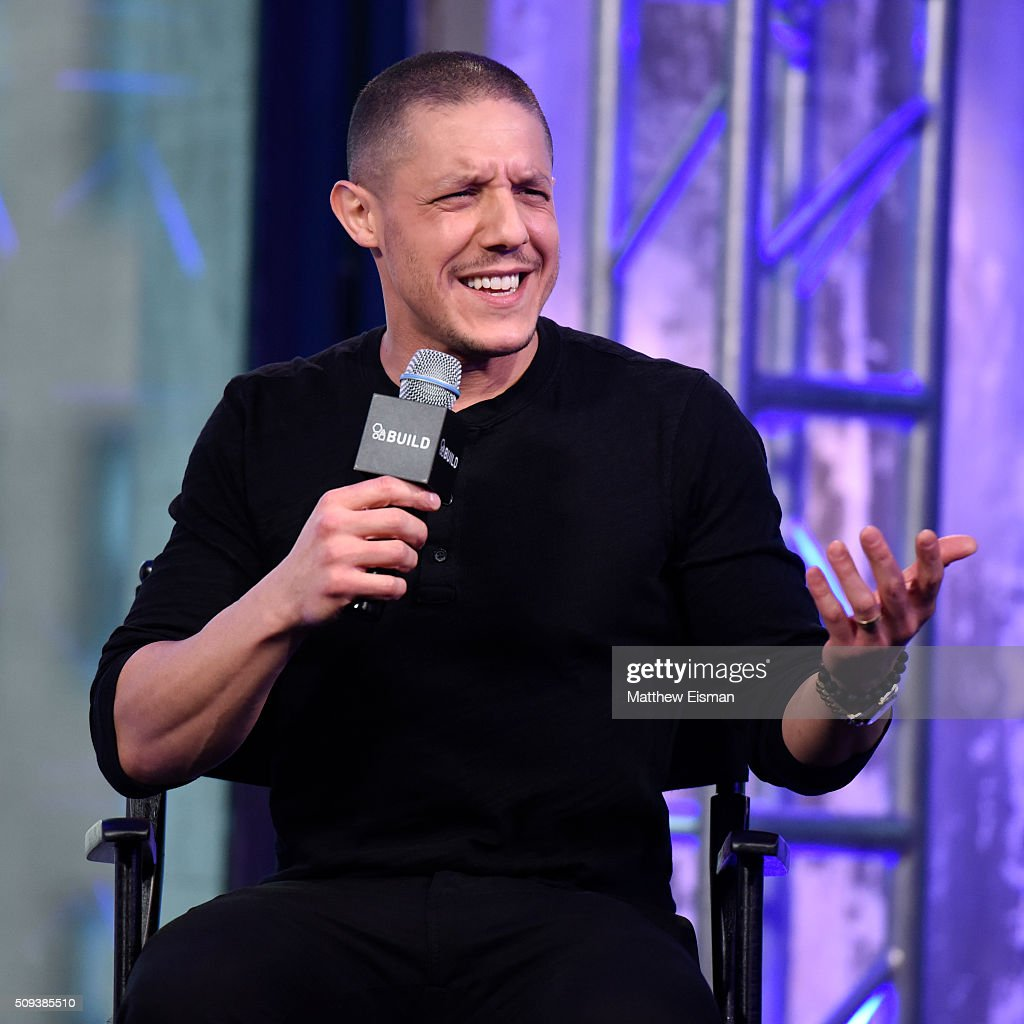 Actor Theo Rossi attends AOL Build Speakers Series - Theo Rossi, 'Bad Hurt' at AOL Studios In New York on February 10, 2016 in New York City.