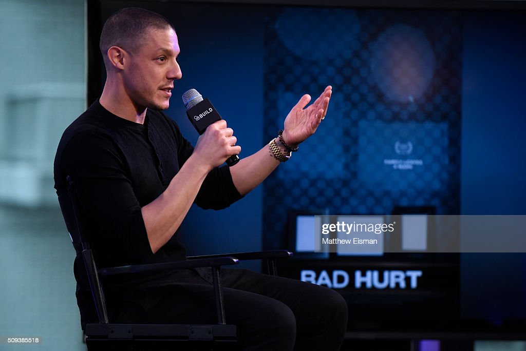 Actor <a gi-track='captionPersonalityLinkClicked' href=/galleries/search?phrase=Theo+Rossi&family=editorial&specificpeople=4015330 ng-click='$event.stopPropagation()'>Theo Rossi</a> attends AOL Build Speakers Series - <a gi-track='captionPersonalityLinkClicked' href=/galleries/search?phrase=Theo+Rossi&family=editorial&specificpeople=4015330 ng-click='$event.stopPropagation()'>Theo Rossi</a>, 'Bad Hurt' at AOL Studios In New York on February 10, 2016 in New York City.