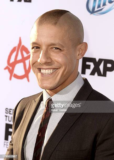 Actor Theo Rossi attends the season 6 premiere of FX's 'Sons Of Anarchy' at Dolby Theatre on September 7 2013 in Hollywood California