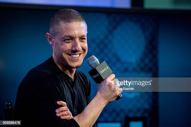 Actor Theo Rossi discusses his new film 'Bad Hurt' at AOL Studios In New York on February 10 2016 in New York City