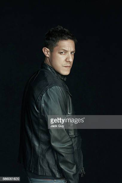 Actor Theo Rossi is photographed for Emmy Magazine on April 26 2012 in Los Angeles California