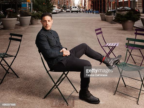 Actor Theo Rossi is photographed for Vanity Faircom on April 15 2015 in New York