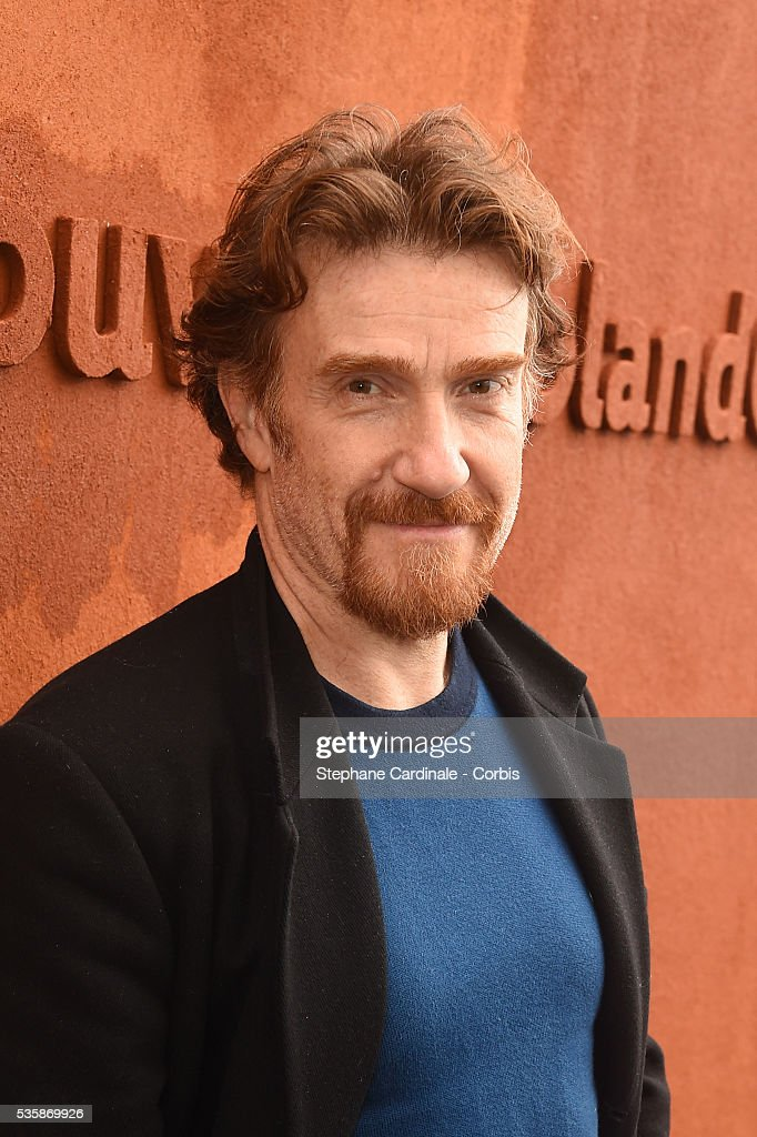 Actor <a gi-track='captionPersonalityLinkClicked' href=/galleries/search?phrase=Thierry+Fremont&family=editorial&specificpeople=788350 ng-click='$event.stopPropagation()'>Thierry Fremont</a> attends day nine of the 2016 French Open at Roland Garros on May 30, 2016 in Paris, France.