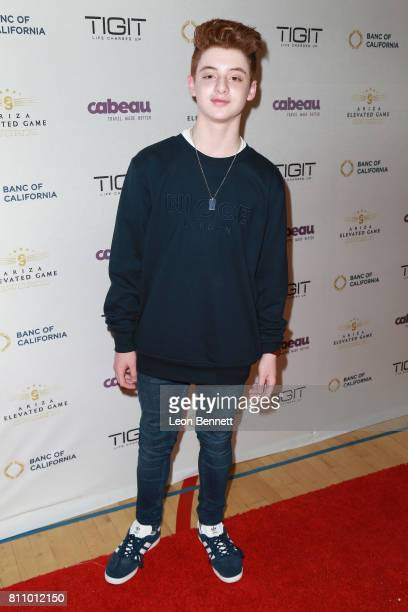 Actor Thomas Barbusca attends the 3rd Annual Ariza Elevated Celebrity Charity Basketball Game on July 8 2017 in Woodland Hills California