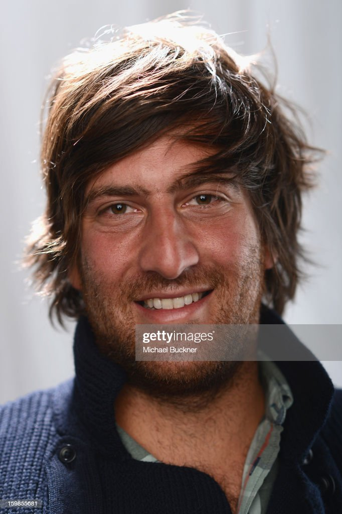 Actor Thomas Benski pose for a portrait at the Photo Studio for MSN Wonderwall at ChefDance on January 21, 2013 in Park City, Utah.