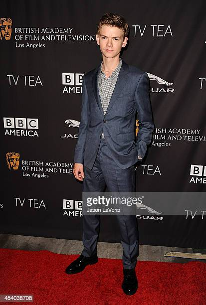 Actor Thomas Brodie Sangster attends the BAFTA Los Angeles TV Tea Party at SLS Hotel on August 23 2014 in Beverly Hills California