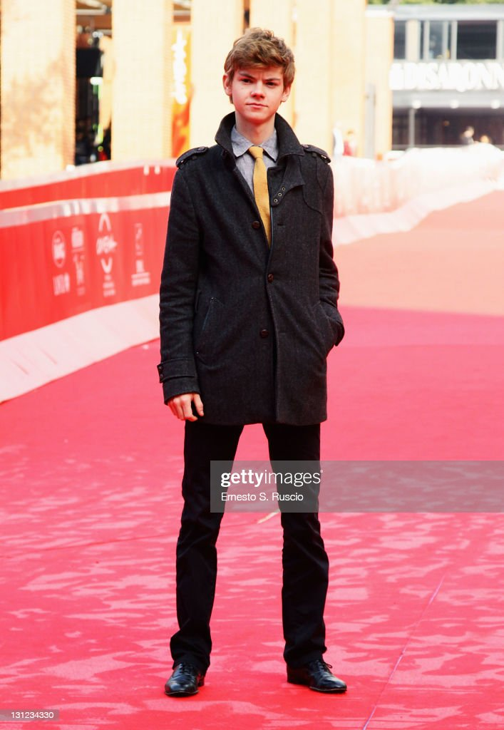 Actor Thomas Brodie-Sangster attends the 'Death of a Super Hero' photocall during the 6th International Rome Film Festival on November 3, 2011 in Rome, Italy.