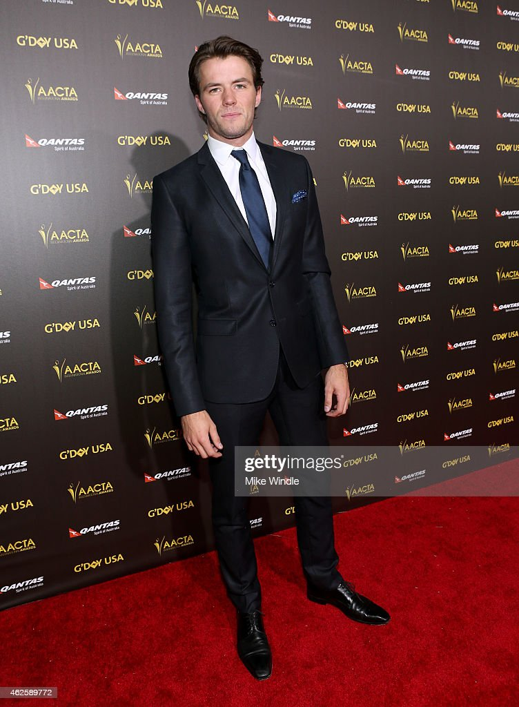 Actor Thomas Cocquerel attends the 2015 G'Day USA GALA featuring the AACTA International Awards presented by QANTAS at Hollywood Palladium on January 31, 2015 in Los Angeles, California.