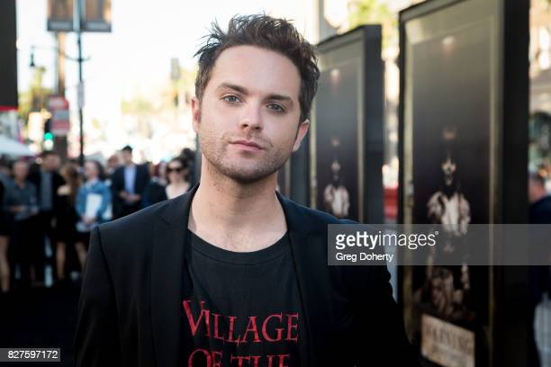 Actor Thomas Dekker arrives for the Premiere Of New Line Cinema's 'Annabelle Creation' at the TCL Chinese Theatre on August 7 2017 in Hollywood...