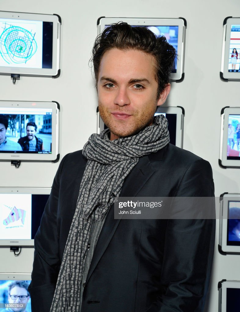 Actor Thomas Dekker attends the 'Snap' cast dinner with Nikki Reed hosted by The Samsung Galaxy Experience at SXSW 2013 on March 11, 2013 in Austin, Texas.