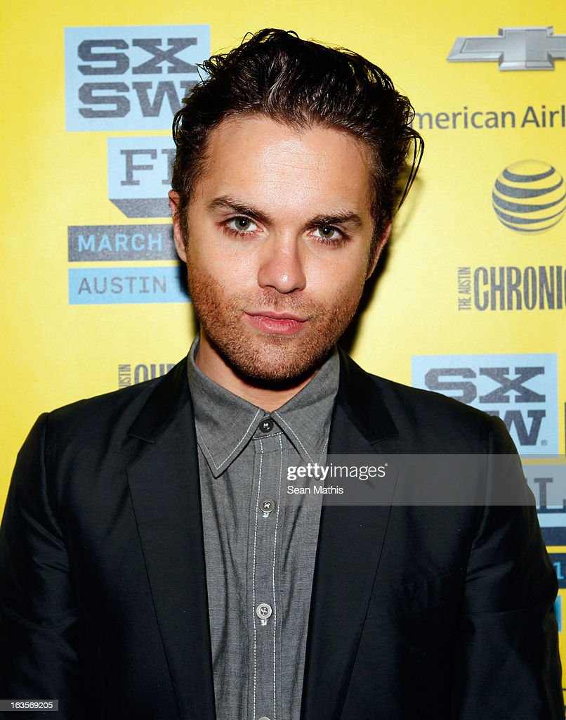 Actor Thomas Dekker poses in the greenroom at the screening of 'Snap' during the 2013 SXSW Music, Film + Interactive Festival at Alamo Ritz on March 11, 2013 in Austin, Texas.