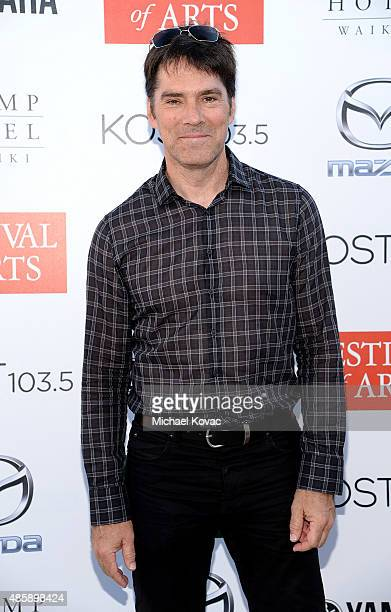 Actor Thomas Gibson attends the 2015 Festival Of Arts Celebrity Benefit Concert And Pageant on August 29 2015 in Laguna Beach California