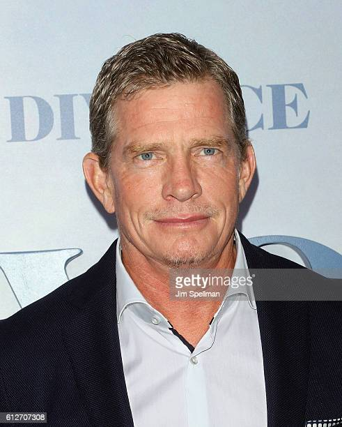 Actor Thomas Haden Church attends the 'Divorce' New York premiere at SVA Theater on October 4 2016 in New York City