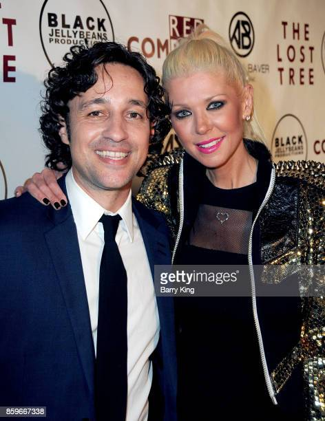 Actor Thomas Ian Nicholas and actress Tara Reid attend 'The Lost Tree' screening at TCL Chinese 6 Theatres on October 9 2017 in Hollywood California