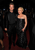 Actor Thomas Jane and actress Patricia Arquette arrive at the 13th Annual Entertainment Tonight and People Magazine Emmys After Party at the Vibiana...