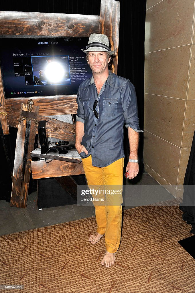 Actor Thomas Jane attends WIRED Cafe at Comic-Con held at Palm Terrace at the Omni Hotel on July 12, 2012 in San Diego, California.