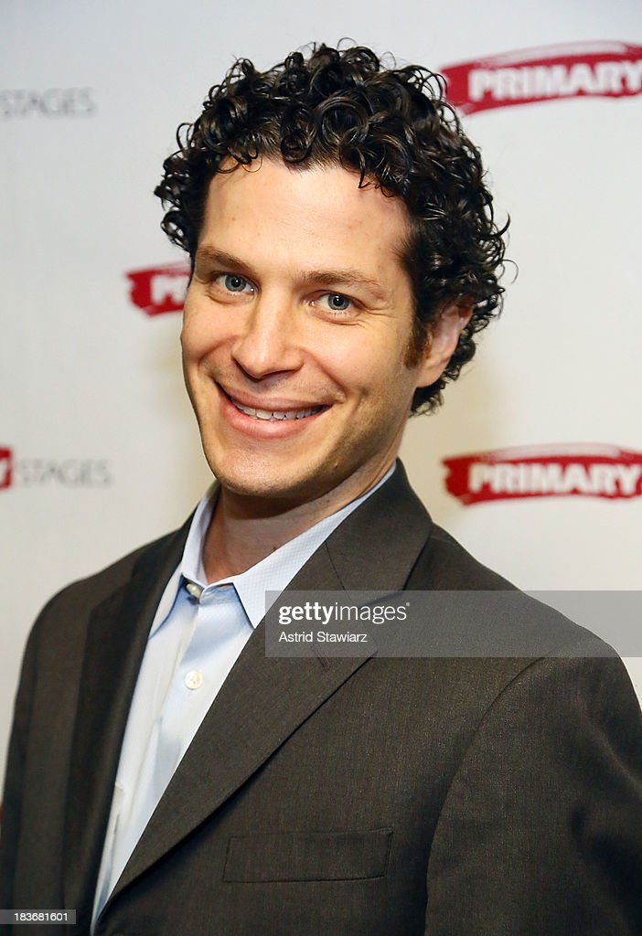Actor Thomas Kail attends the 'Bronx Bombers' opening night after Party at West Bank Cafe on October 8, 2013 in New York City.