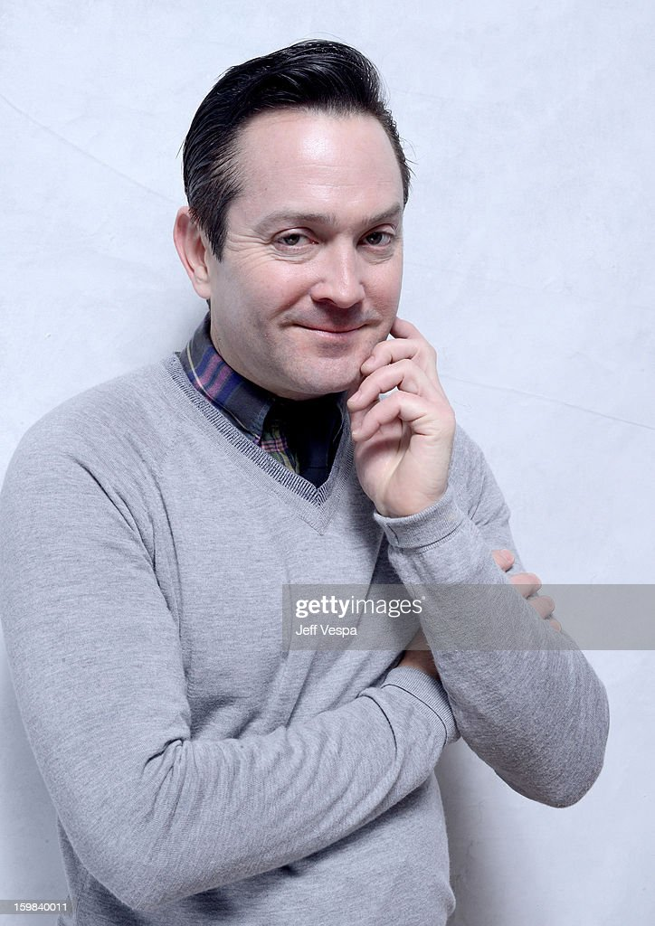 Actor Thomas Lennon poses for a portrait during the 2013 Sundance Film Festival at the WireImage Portrait Studio at Village At The Lift on January 21 2013 in Park City, Utah.