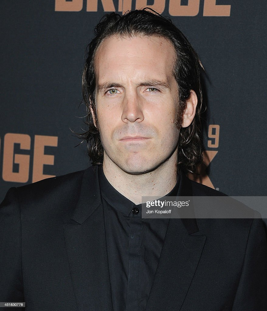 Actor Thomas M. Wright arrives at the FX's 'The Bridge' Season 2 Premiere at Pacific Design Center on July 7, 2014 in West Hollywood, California.