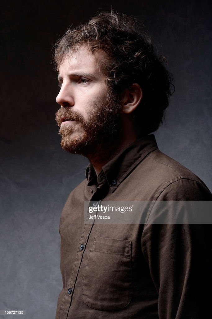Actor Thomas M. Wright poses for a portrait during the 2013 Sundance Film Festival at the WireImage Portrait Studio at Village At The Lift on January 19, 2013 in Park City, Utah.