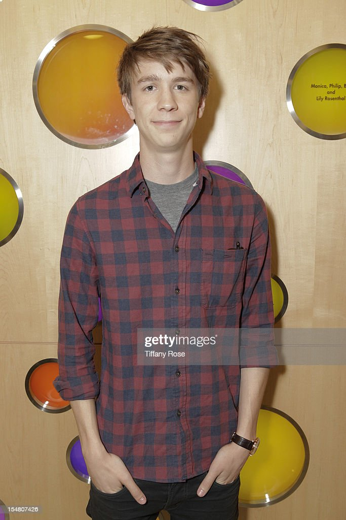 Actor Thomas Mann attends 'Fun Size' Special Screening At Children's Hospital Los Angeles at Childrens Hospital Of Los Angeles on October 26 2012 in...