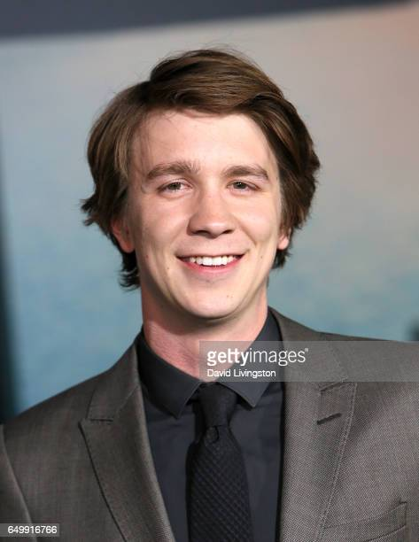 Actor Thomas Mann attends the premiere of Warner Bros Pictures' 'Kong Skull Island' at Dolby Theatre on March 8 2017 in Hollywood California