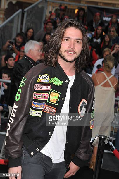 Actor Thomas McDonell arrives at the World Premiere of Walt Disney Pictures' 'Pirates of the Caribbean On Stranger Tides' held at Disneyland in...