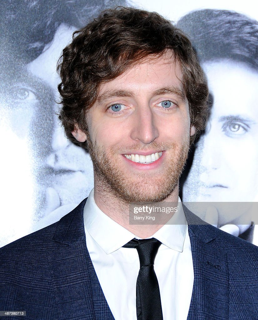 Actor Thomas Middleditch arrives at the premiere of 'Silicon Valley' on April 3, 2014 at Paramount Studios in Hollywood, California.