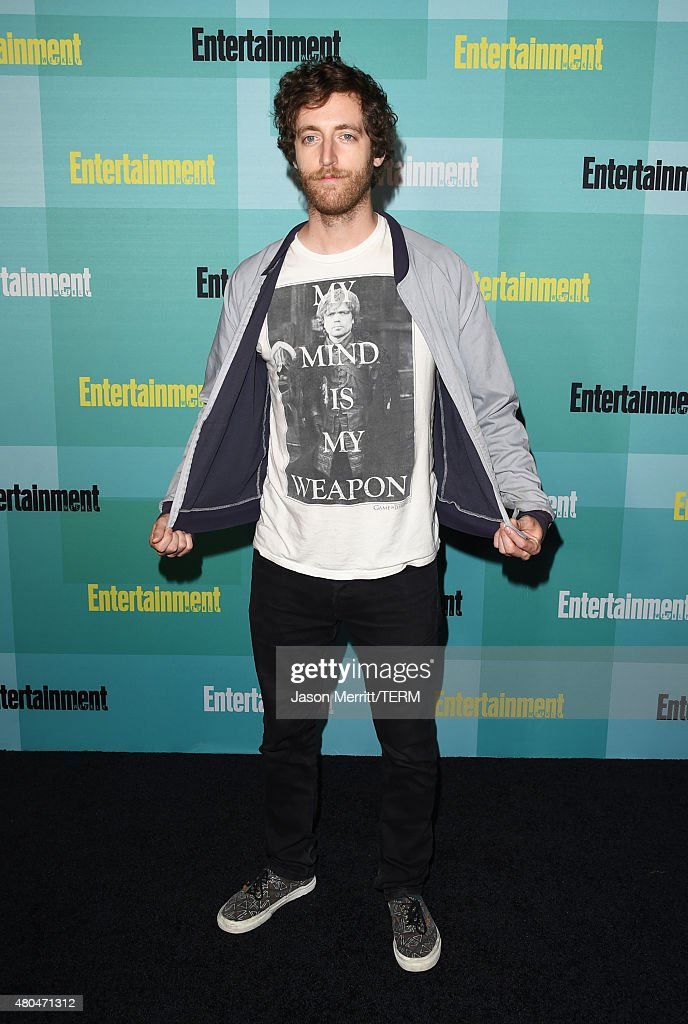 Actor Thomas Middleditch attends Entertainment Weekly's ComicCon 2015 Party sponsored by HBO Honda Bud Light Lime and Bud Light Ritas at FLOAT at The...