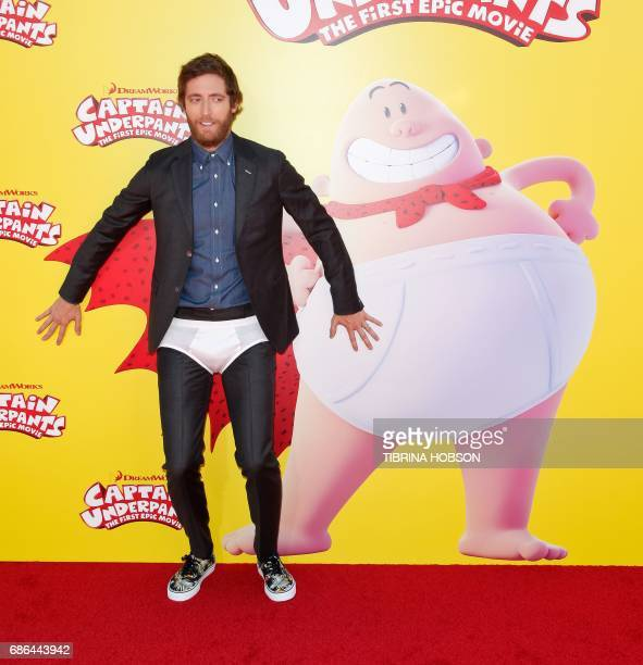 Actor Thomas Middleditch attends the premiere of 20th Century Fox's 'Captain Underpants The First Epic Movie' at the Regency Village Theatre in Los...