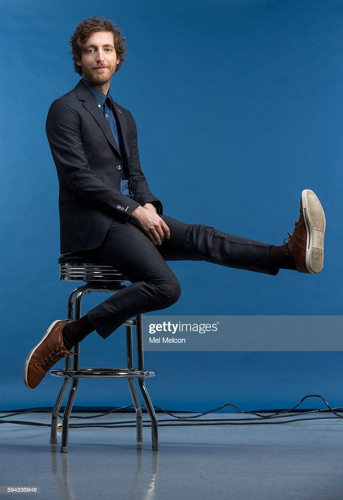 Actor Thomas Middleditch is photographed for Los Angeles Times on July 18, 2016 in Los Angeles, California. PUBLISHED IMAGE.