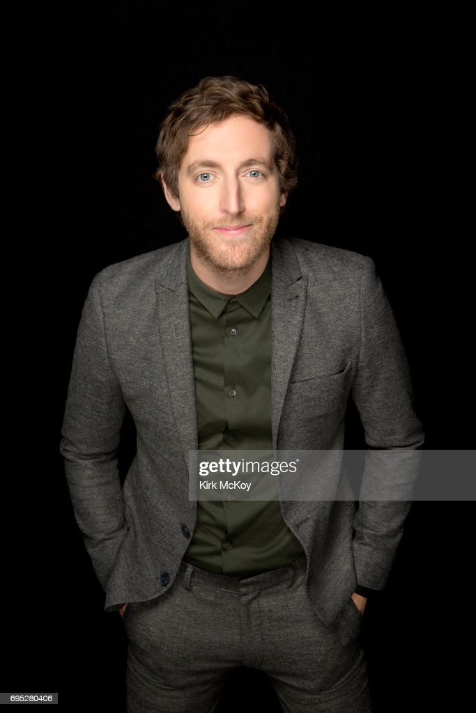 Actor Thomas Middleditch is photographed for Los Angeles Times on April 29, 2017 in Los Angeles, California. PUBLISHED IMAGE.